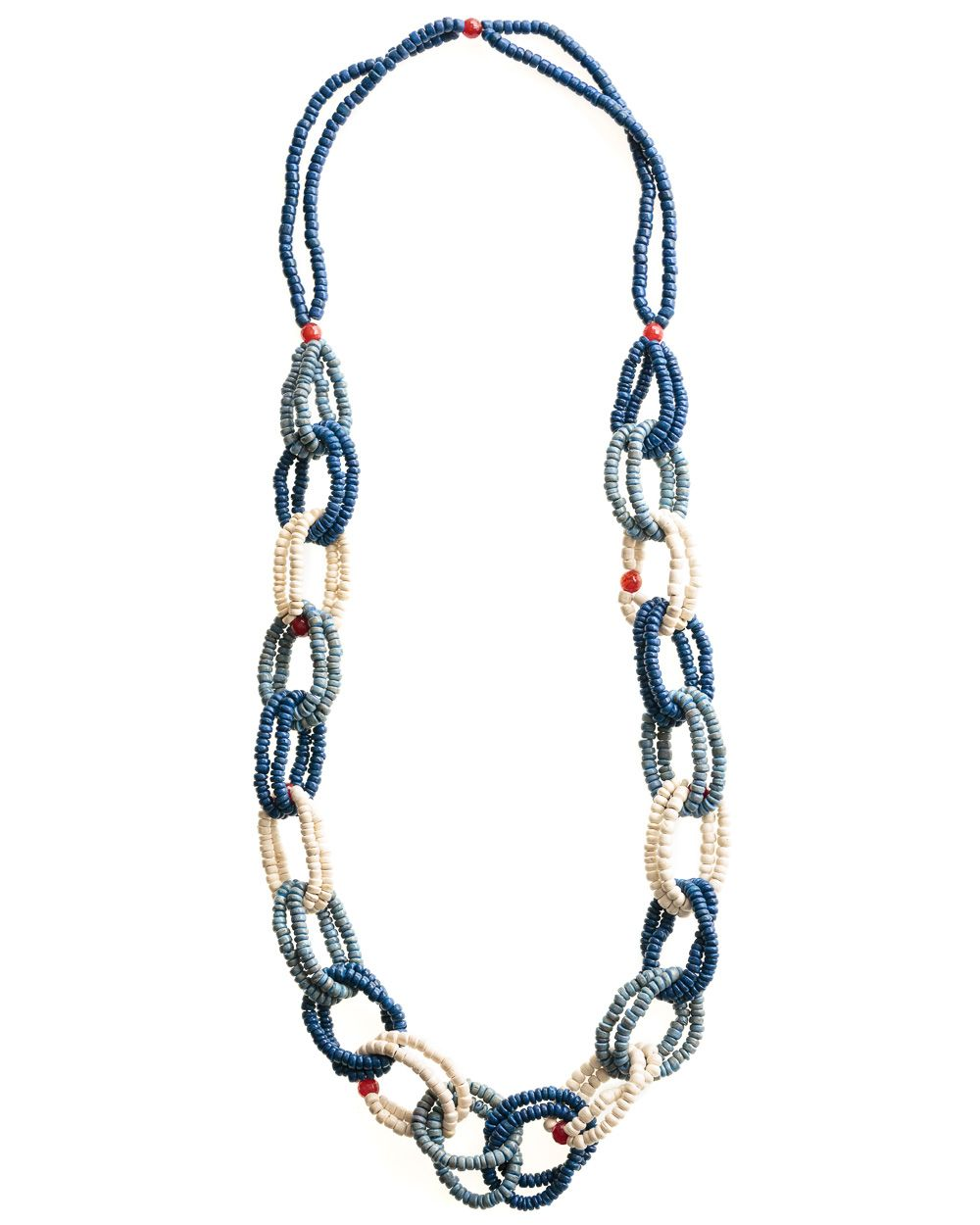 Saaj Link Bead Necklace