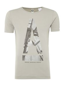 Graphic A print t shirt