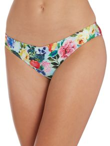 Summer garden sweetheart hipster bikini brief