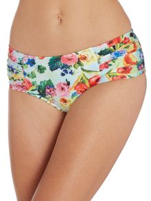 Summer garden ruched side retro