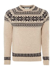 christmas fairisle jumper