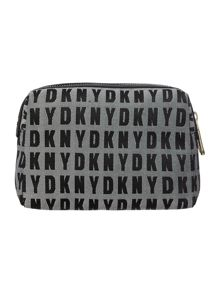 Black medium cosmetic bag
