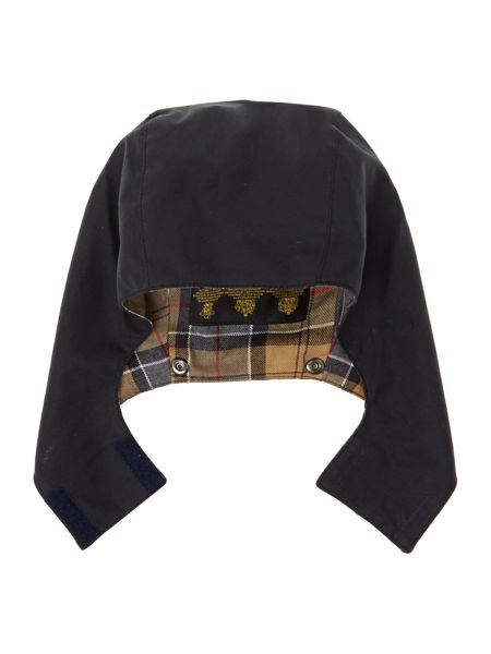 Barbour Boys Country wax hood