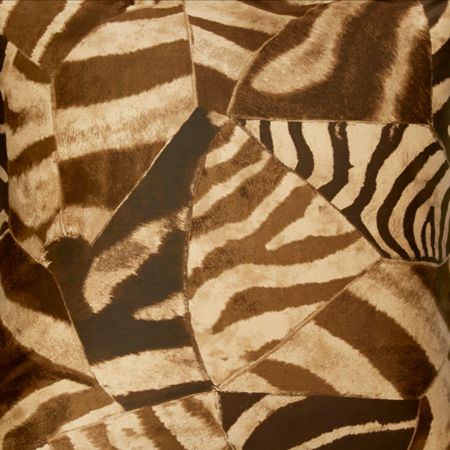 Ralph Lauren Home Victoria falls zebra brown euro king fitted sheet