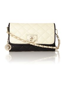 Gansevoort monochrome small flap over crossbody
