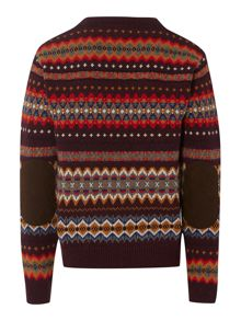 Boy`s Caister fairisle jumper