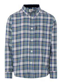 boys armadale check shirt