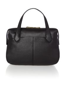 Crosby black satchel bag