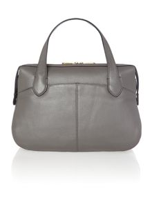 Crosby dark grey satchel bag