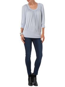 Beatrice blouson top