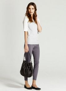 Steel Zip Skinny Trouser