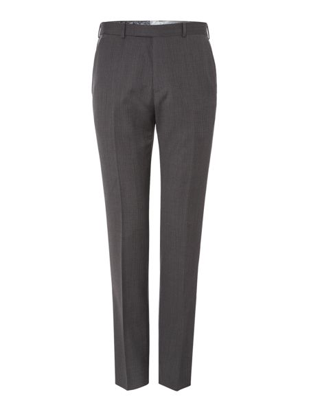 Ted Baker Mitten Textured Grid Regular Fit Suit Trousers