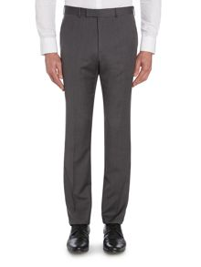 Mitten Textured Grid Regular Fit Suit Trousers