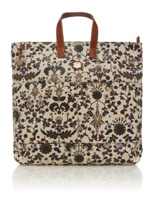 Maya multi coloured large tote bag