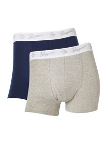 Original Penguin 2 pack plain keyhole boxer
