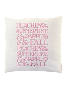 Peaches 45x45 cushion in Pink