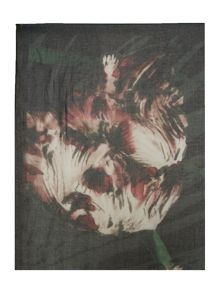 Palm floral blanket modal scarf