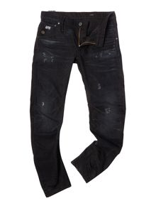 Arc slim fit black jean