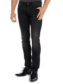 3301 super slim fit black jeans
