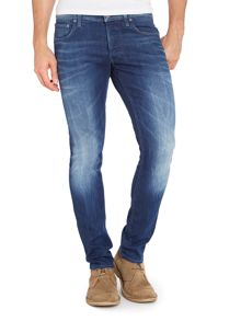 3301 comfort fit mid rinse jean