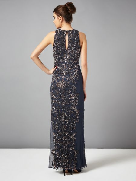 Phase Eight Paola sequinned full length dress