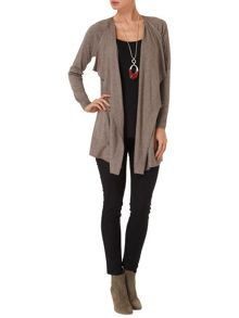 Romilly longline cardigan