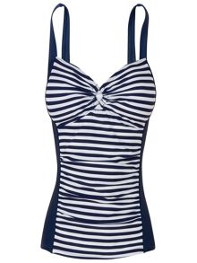 Stripe tankini top