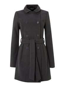 Long outerwear coat