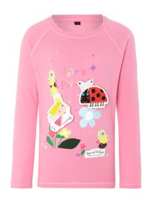 Girls Ben & Holly long sleeve t-shirt