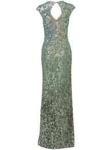 Colette sequin full length dress