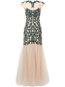 Oralie embroidered dress