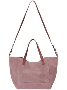 Harriet suede shoulder bag