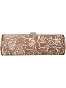 Grace embroidered clutch bag