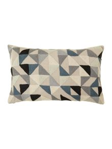 Harlequin cushion 40cm x 60cm Grey