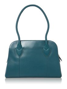 Aldgate blue medium shoulder bag