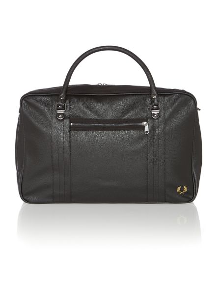 Fred Perry Scotch grain over night bag