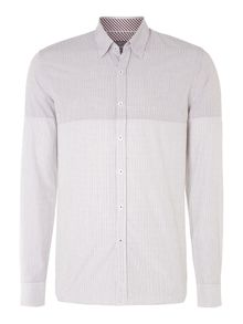 Peter Werth Long Sleeved Cut And Sew Shirt