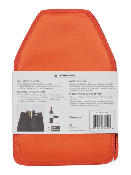 Wine Cooler Sleeve Volcanic WA126