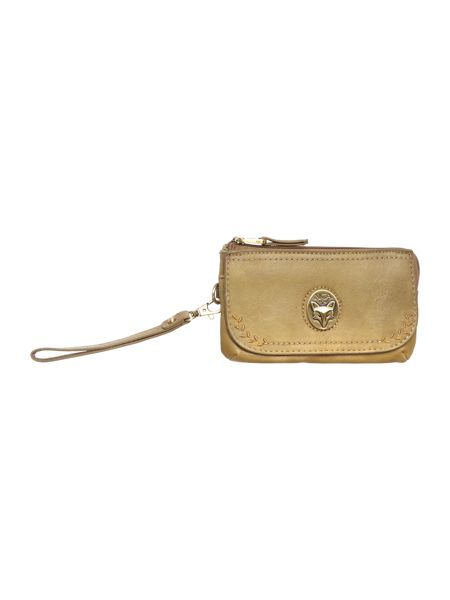 Nica Kenzie green medium zip purse