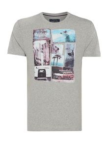 Criminal Photo Block Graphic Tee