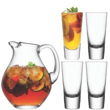 Bar Punch Jug Set 2.8L/315ml Clear