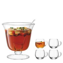 Bar Punch Bowl Set Ø26.5cm/300ml Clear