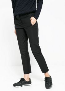 Cotton suit trouser