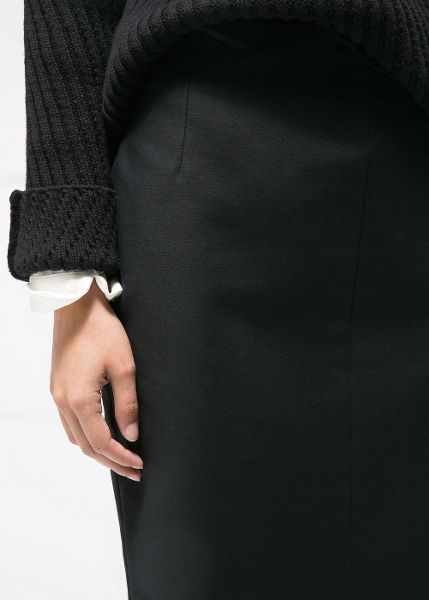 Mango Cotton pencil skirt