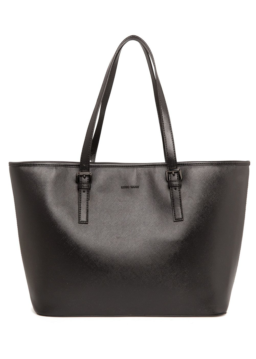 Saffiano Effect Shopper Bag