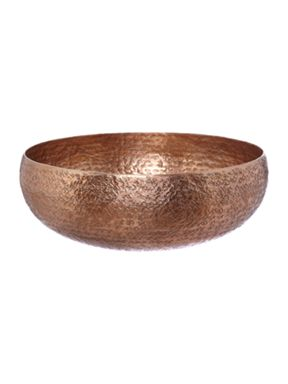 Casa Couture Coppper hammered metal bowl range