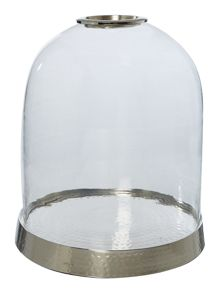 Hammered Metal Cloche