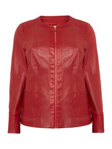 Calamaio leather jacket