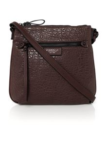 Phoebe red cross body bag