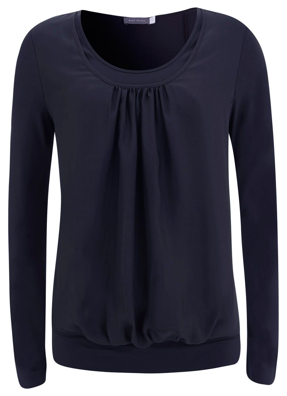 Indigo Double Front Mix T-shirt